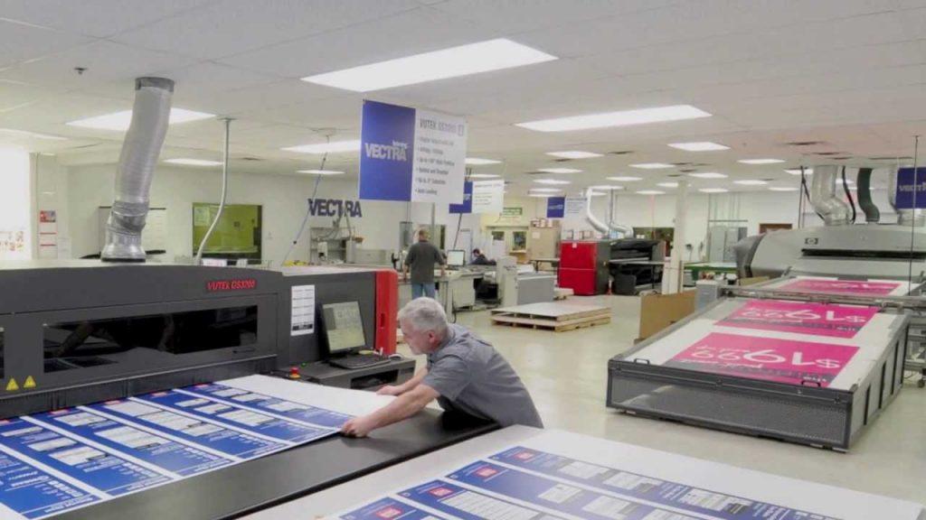 Shop of Printing press