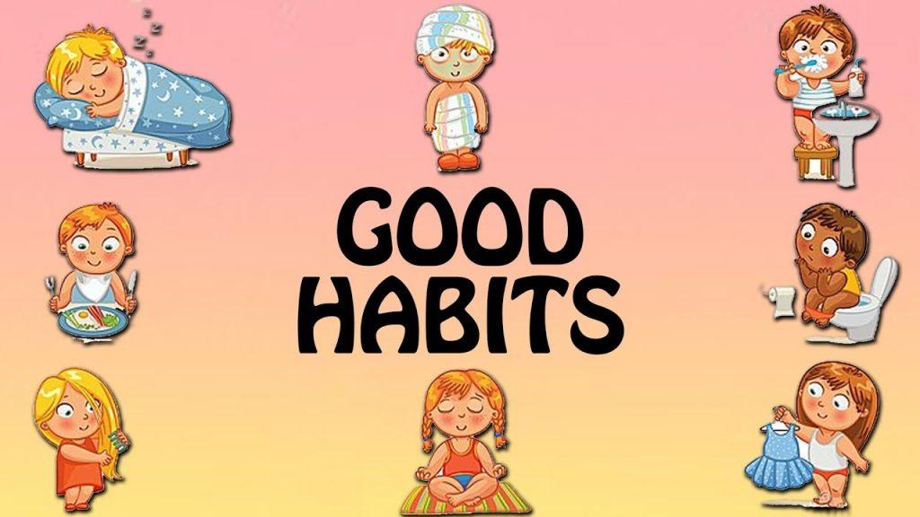 Children Develop Healthy Habits