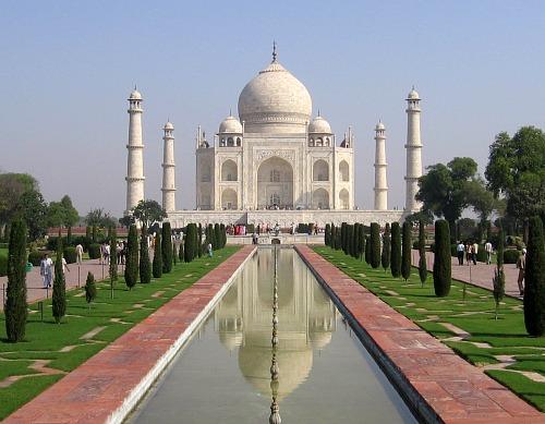 Why visit india-Taj Mahal
