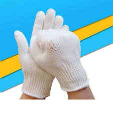 Cotton and texture gloves